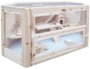 Hamsterkäfig Holz Habau