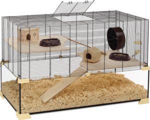 Hamsterkäfig Glas Ferplast