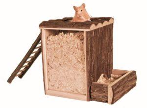 Hamster Haltung Buddelturm